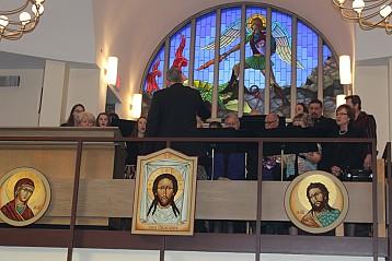 St. Michael's Alumni Choir under direction of Emil Misichko
